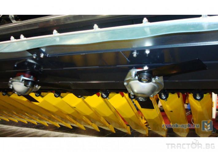 Хедери за жътва Хедер за слънчоглед със сечка 1