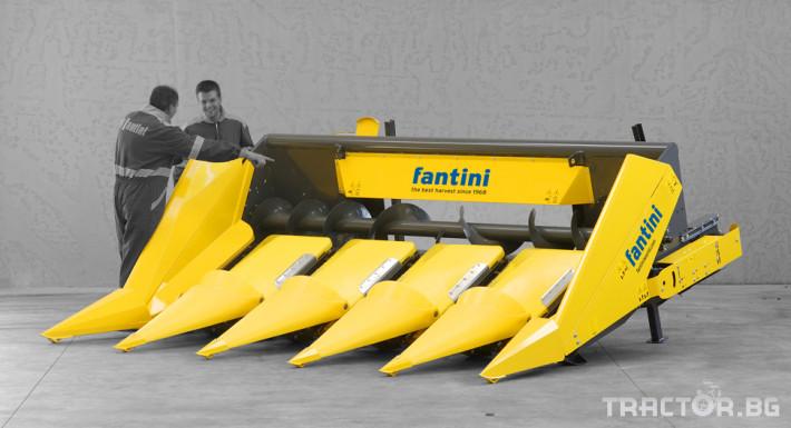 Хедери за жътва Хедер за царевица Fantini 1